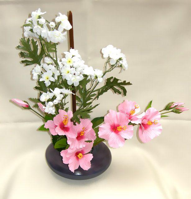 0441258c45867 Como Hacer un Centro de Mesa con Flores Artificiales. Celebrar fiestas es  muy bonitos siempre