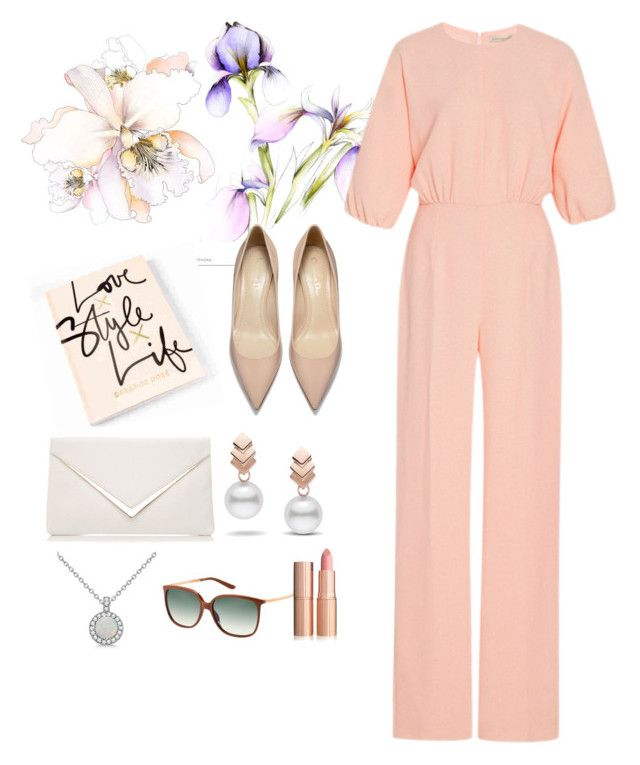 Classy by fautumm on Polyvore featuring polyvore, fashion, style, Emilia Wickstead, Allurez, Escalier, MaxMara and clothing