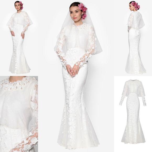 Baju pengantin terkini 2016 2017 rizalman bridalwear for Cheap wedding dress malaysia