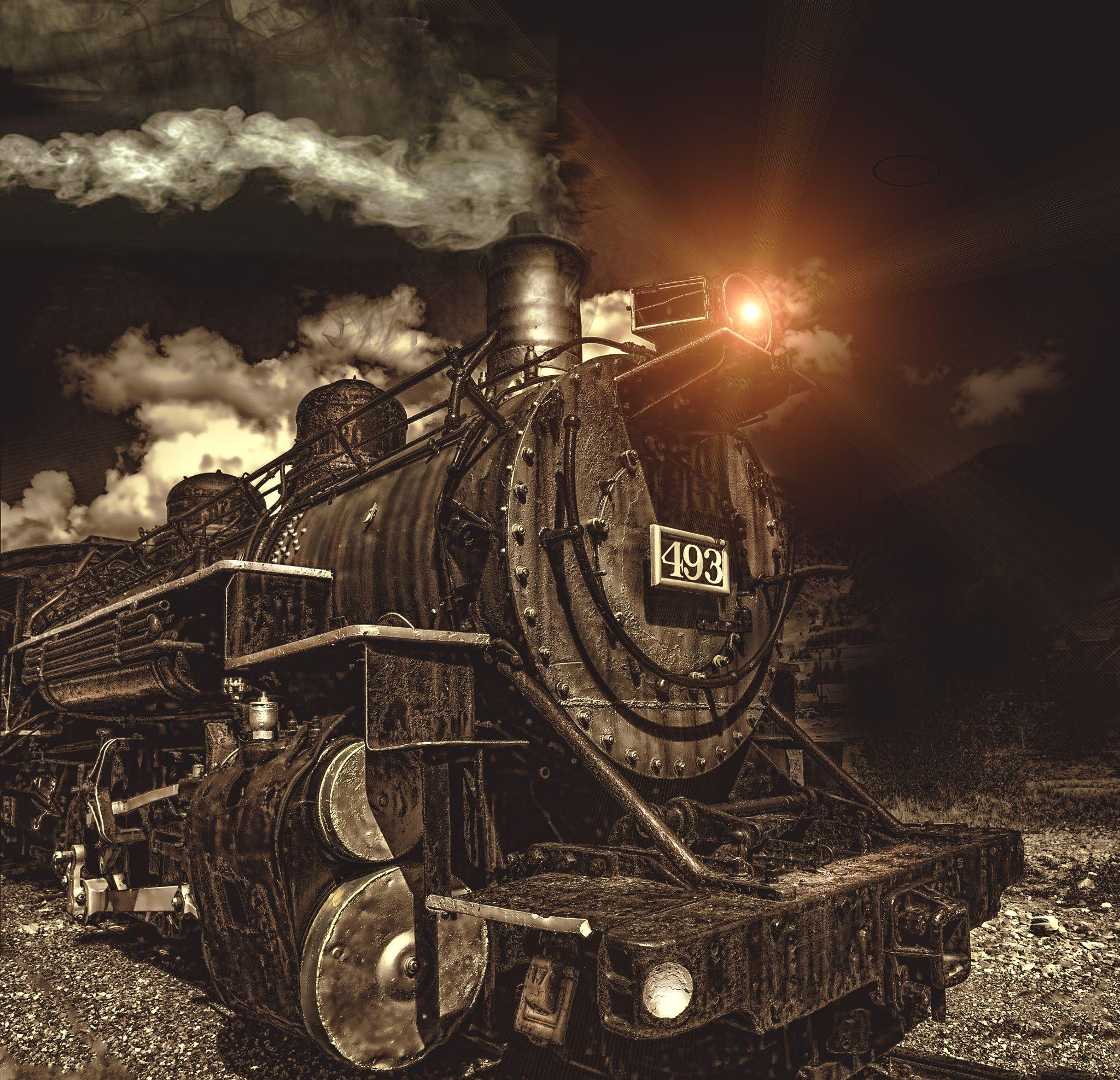 Train In Durango Co. Rail Yard