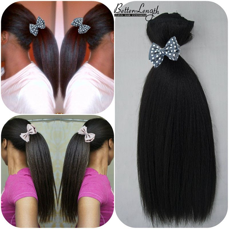 Clip In Hair Extensions For Black Girls One Bundle Is Definitely