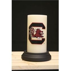 South Carolina Gamecocks Flame Less Candle With Timer