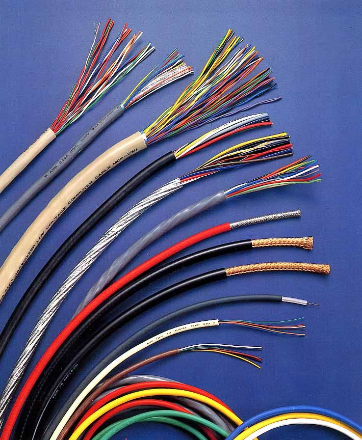 Electric Wire Types for Industry Home Etc | Electric Library ...