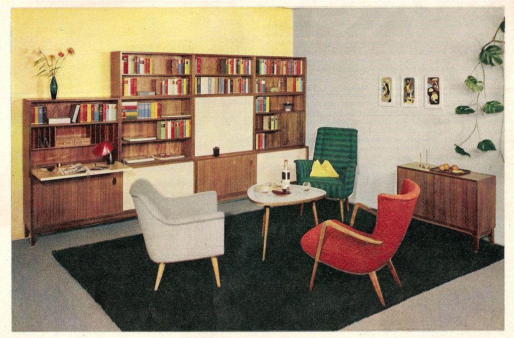 All sizes | 1959 Das Haus, Heft Juni - bunte Sessel | Flickr - Photo Sharing!