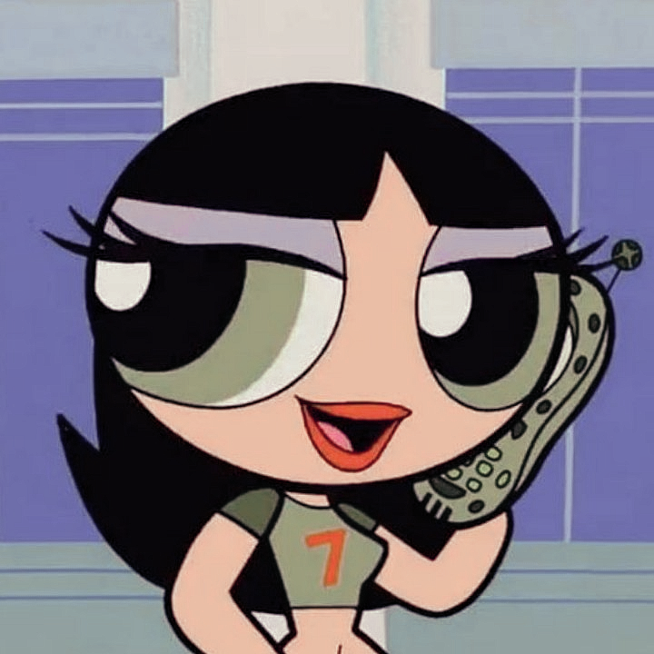 Photo of cartoons icons on Tumblr