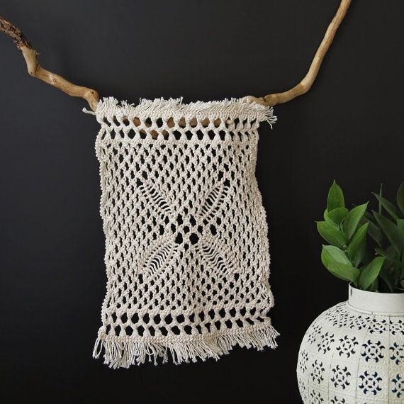 Hey, I found this really awesome Etsy listing at https://www.etsy.com/listing/189716329/macrame-art-hanging-fiber-art-wall-decor