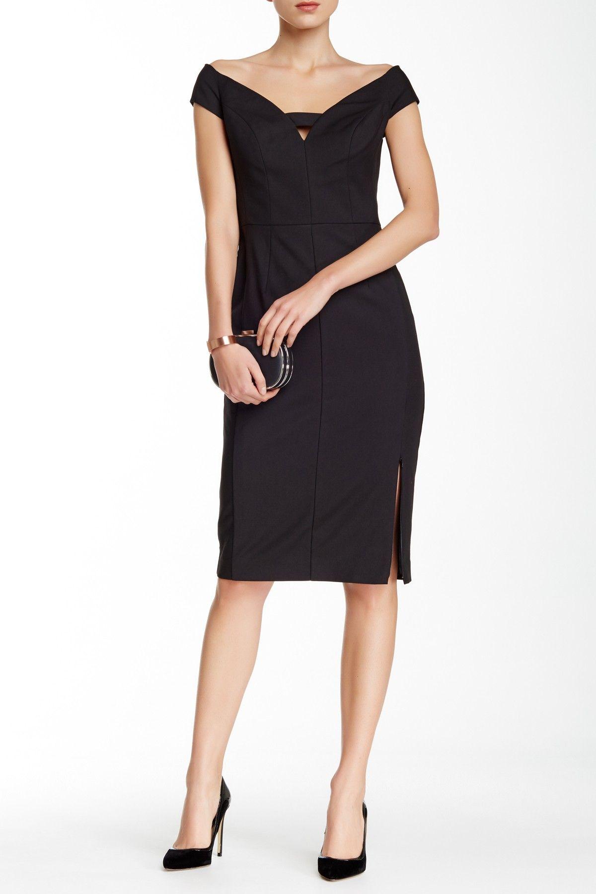 Black halo riya sheath dress women fashion pinterest free
