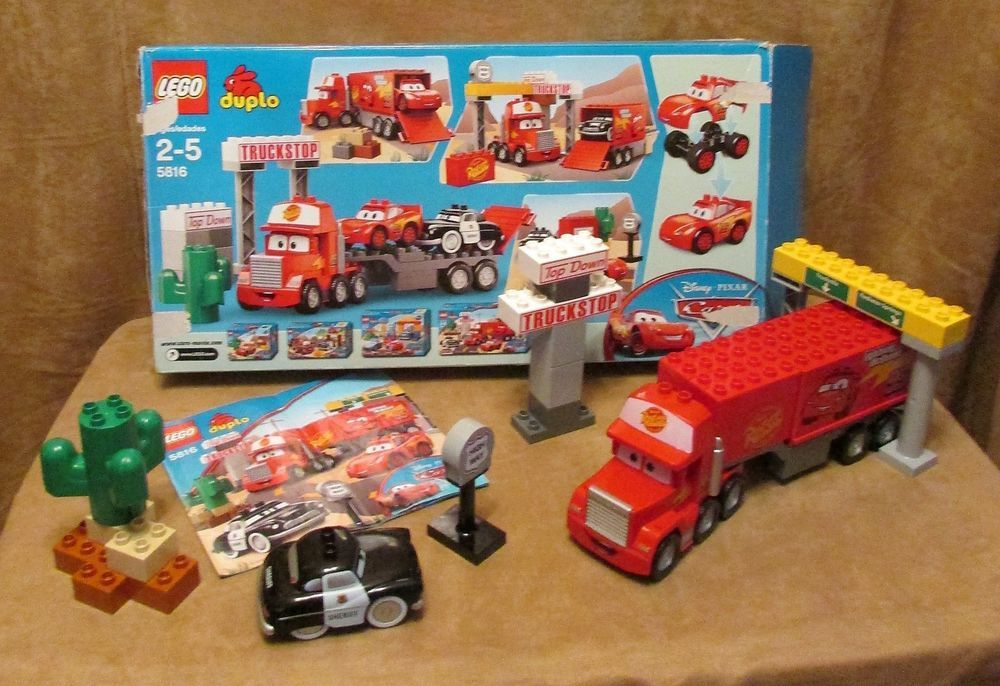 5815 Duplo Lego Macks Road Trip Complete Box Instructions Disney