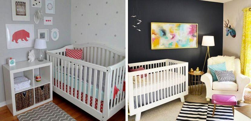 C mo decorar una habitaci n de beb peque a dise o for Diseno de habitacion principal pequena