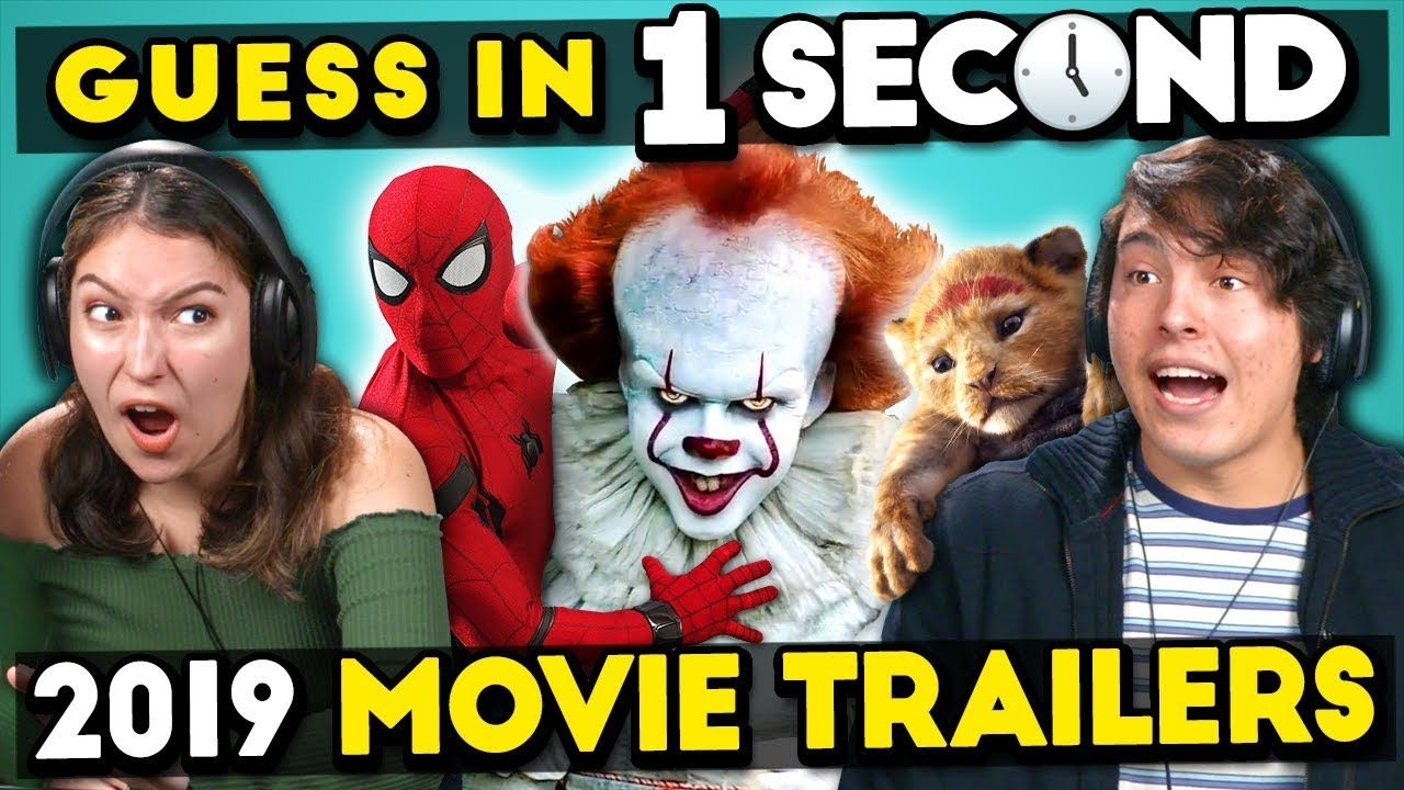 GUESS THAT 2019 MOVIE TRAILER IN 1 SECOND CHALLENGE | Films
