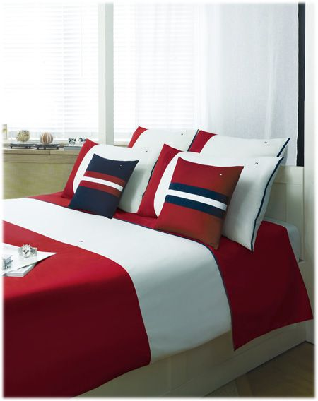 Draps De La Collection Tommy Hilfiger Tommy Hilfiger Bedding Bedroom Decor Home
