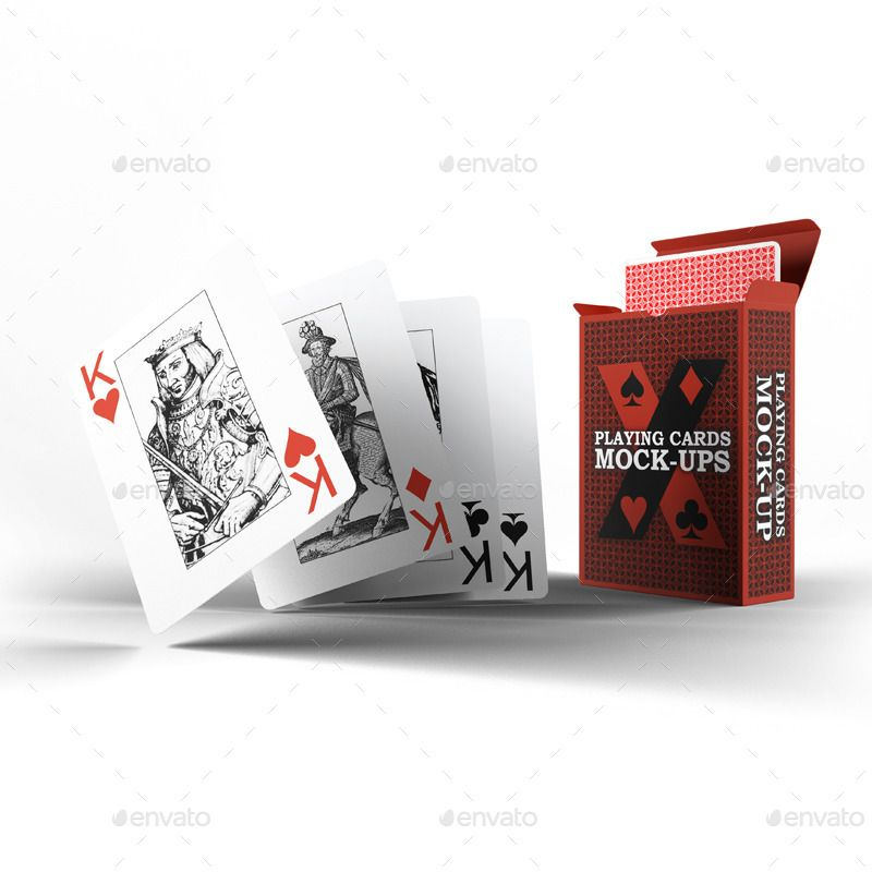 Playing Cards Card Box Mock Up Ad Box Affiliate Mock Upset Card Playing Cards Playing Card Box Cool Playing Cards