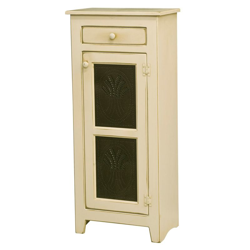 Amish Small Pie Safe with Tins   Amish Furniture   Shipshewana Furniture Co.