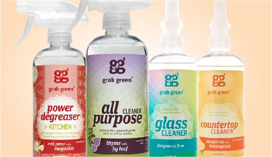 Grab Green Creates Naturally Derived Cleaning Products That Are Not Only Environmentally Friendly Simple Green Cleaning Green Cleaning Green Cleaning Supplies