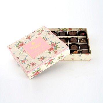 Charbonnel et Walker Vintage Floral Box Milk & Dark Chocolates  PRICE: $38.50