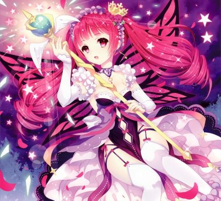 Pink Fairy Other Wallpaper Id 1833565 Desktop Nexus Anime Co Gai Phim Hoạt Hinh Anime Manhwa