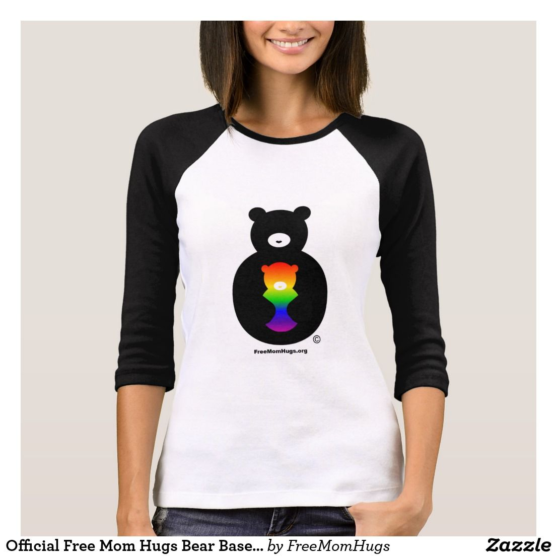 75616180 Official Free Mom Hugs Bear Baseball shirt | Thank you for using our  affiliate link, which allows us to make a commission (at no extra cost to  you) should ...