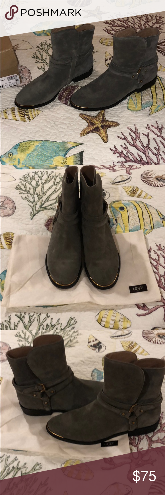 84f9793810b UGG Kelby Super cute grey suede boots! Brand new in original box ...