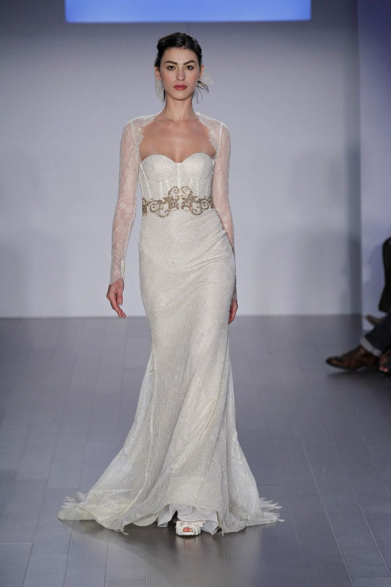Style LZ3512 Bridal Gowns Wedding Dresses Spring 2015 Collection By Lazaro Shown Ivory Gold