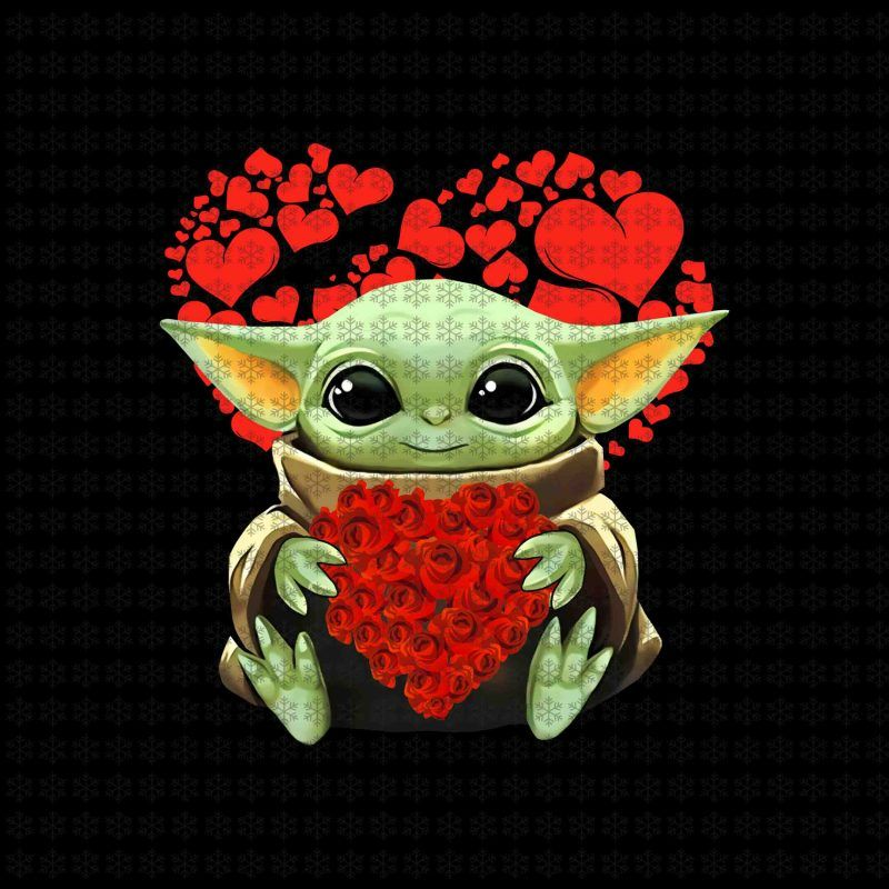 Baby Yoda Valentine Png Baby Yoda Png Valentine Png Star Wars Png Jpg Files T Shirt Template Star Wars Baby Yoda Wallpaper Star Wars Drawings