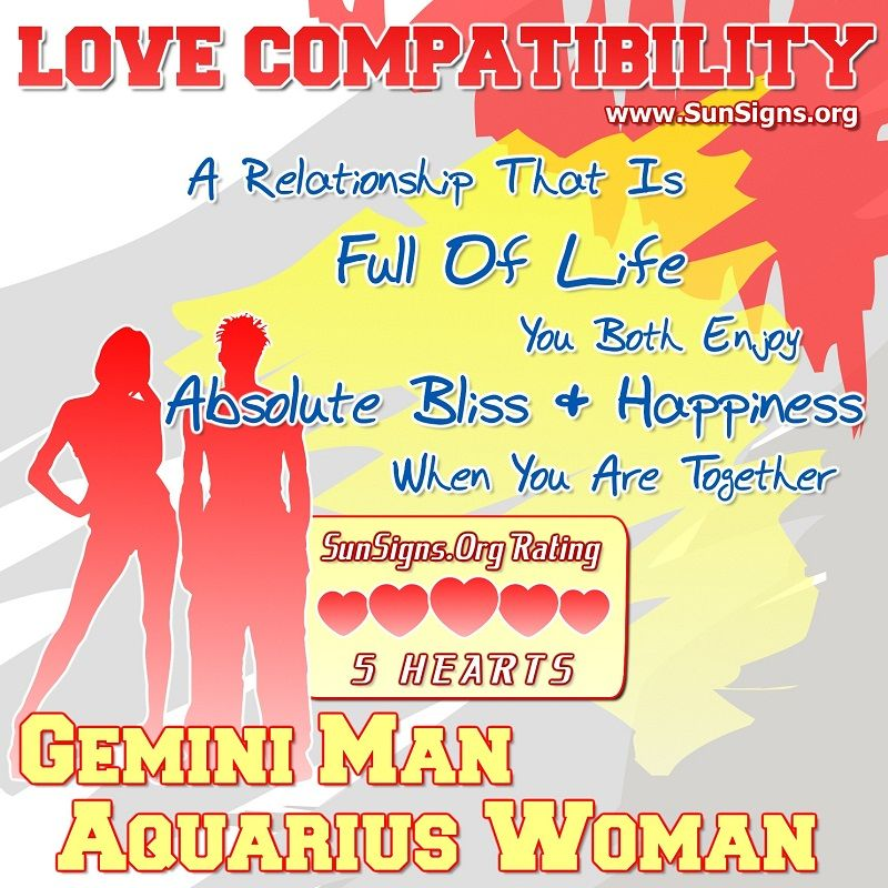 How To Attract A Gemini Man As An Aquarius Woman