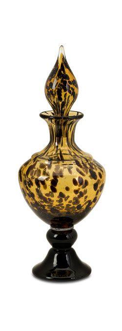Zulu small glass bottle