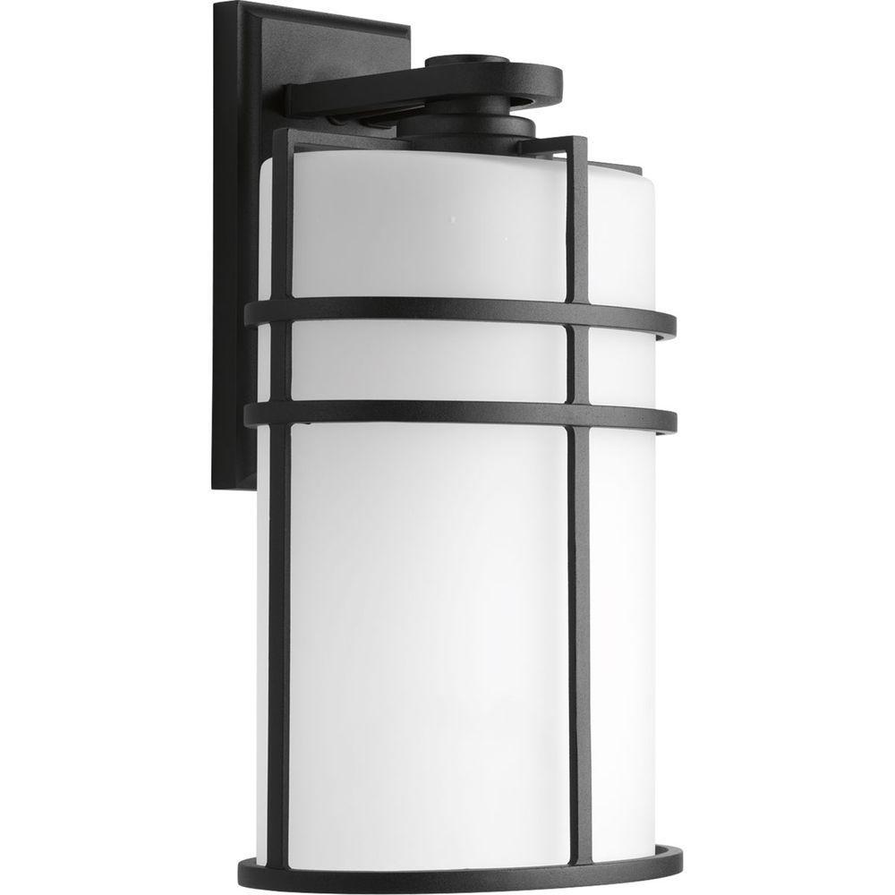 Progress lighting format collection light outdoor black wall