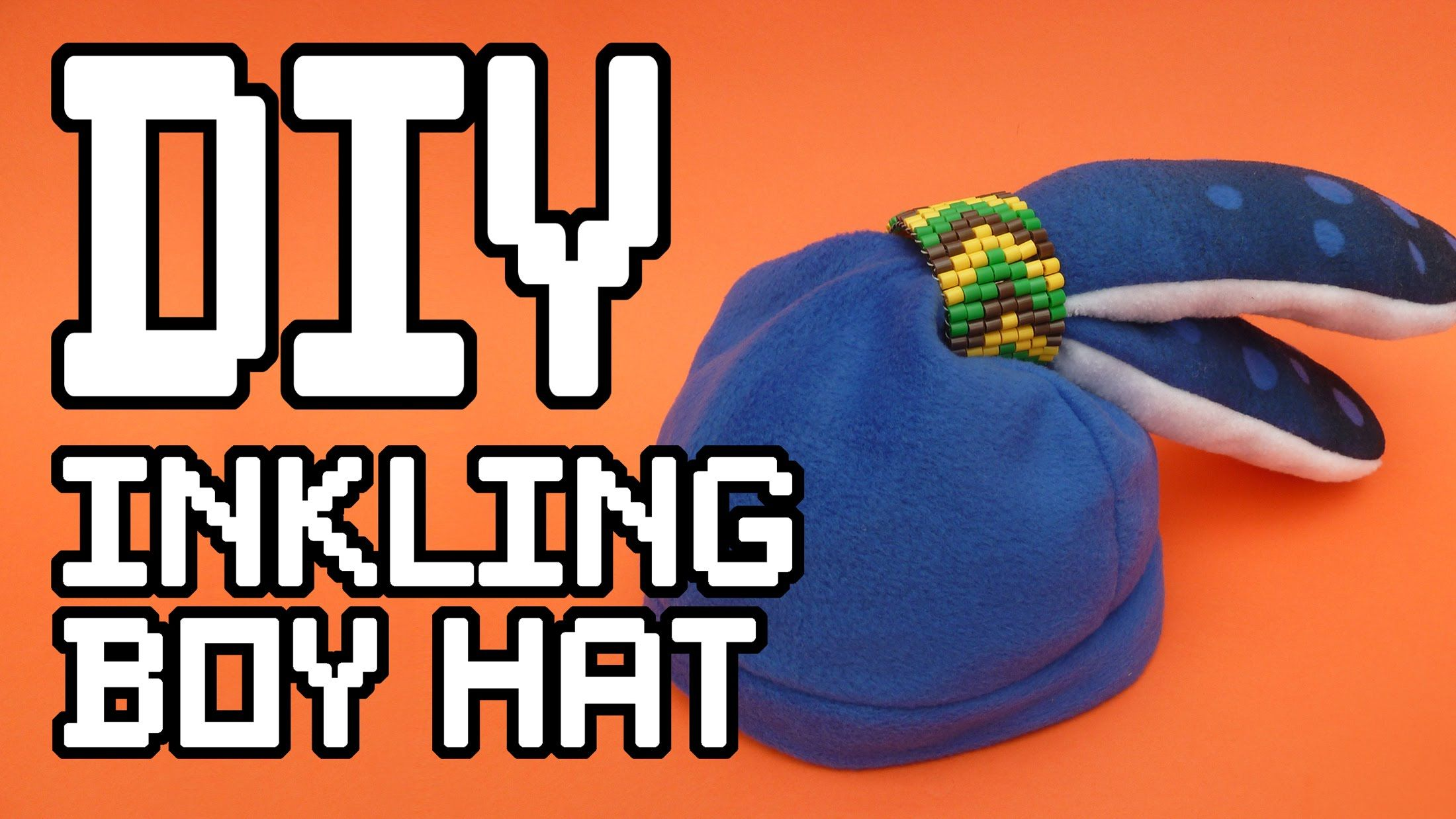 9a9577866d720 Splatoon Inkling Boy Hat templates - Find the Tutorial here  www.youtube.com