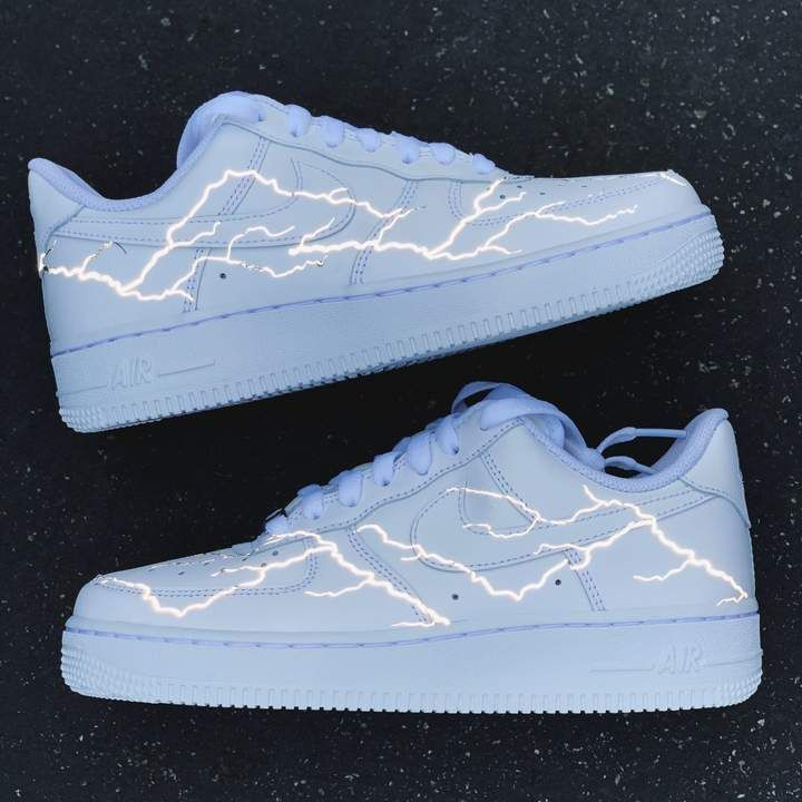 3M Limited HD Reflective Butterfly Air Force 1 | Nike shoes
