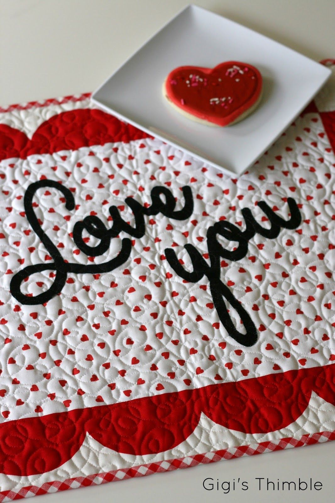 Free Pattern Day Hearts And Valentines