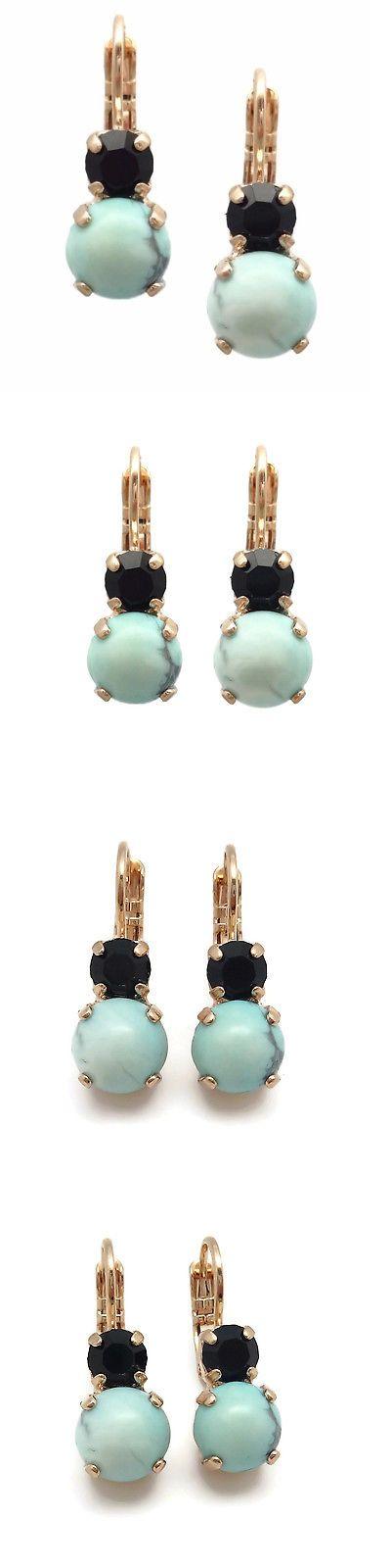Earrings Mariana Swarovski Crystal Rose Gold Earrings