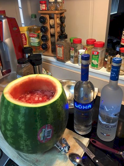 12 Steamy Summer Hacks Watermelon KegSummer PartiesBackyardsMake