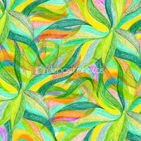 lápiz de color abstracto dibujar fondo — Imagen de stock #30407977