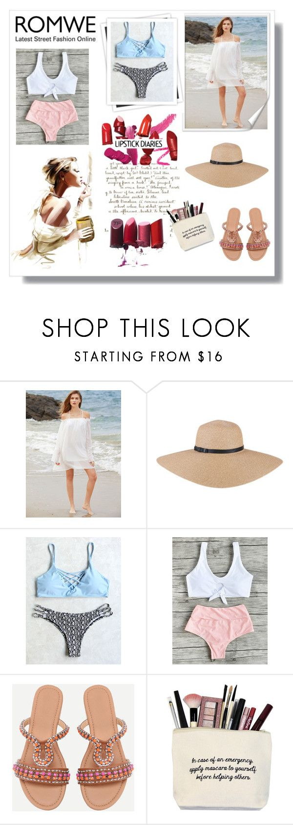 """Romwe 7/V"" by hedija-okanovic ❤ liked on Polyvore featuring GALA"