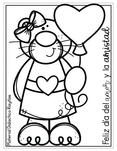 Dibujos Colorear Dia Del Amor Y Amistad Orientacion Andujar Dia De Amor Y Amistad Libro De Colores Paginas Para Colorear