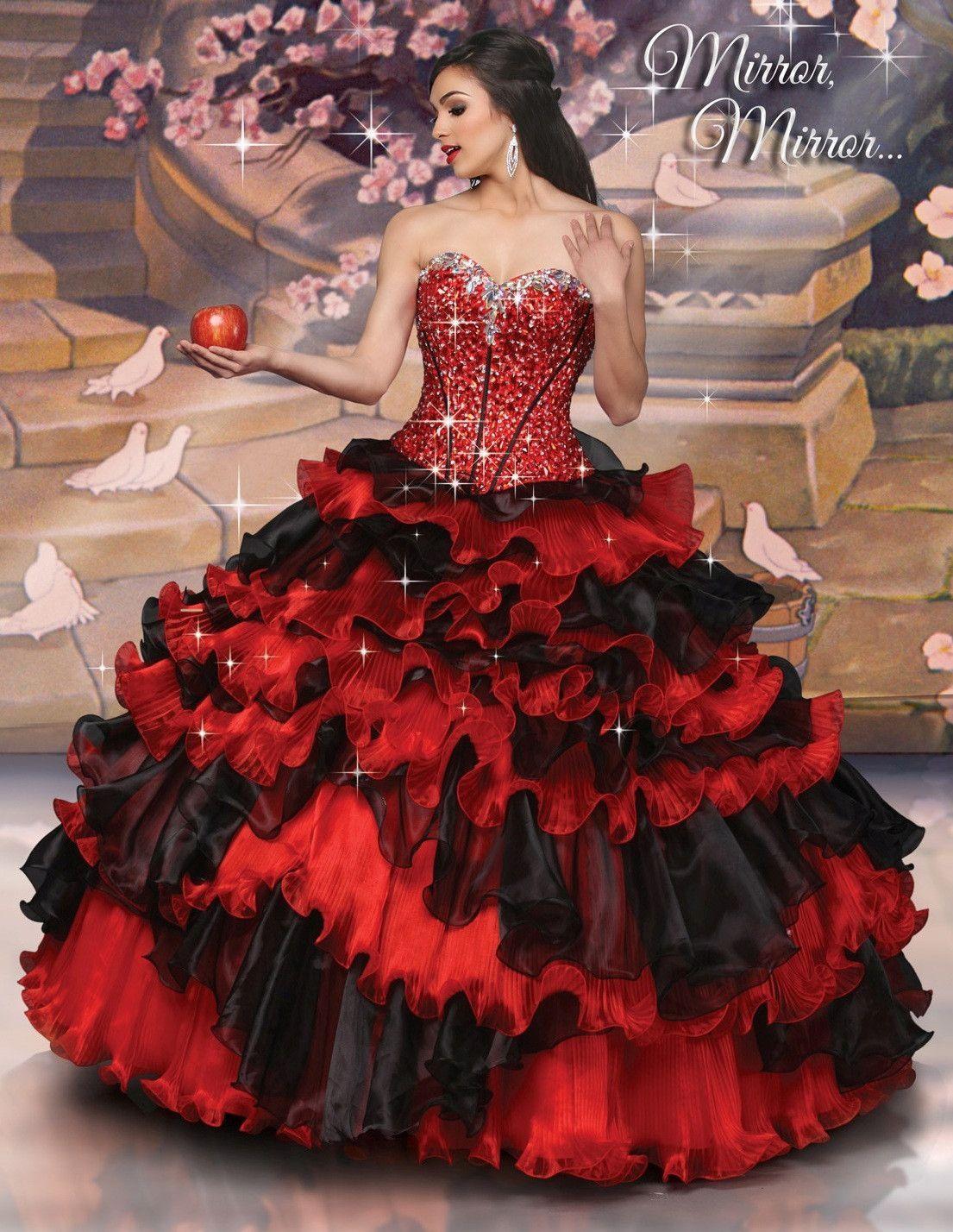 Disney Royal Ball Quinceanera Dress Snow White Style 41057