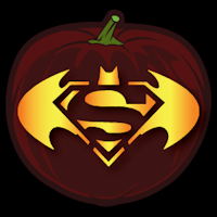 Batman Vs Superman Pumpkin Stencil Cartoons Comix