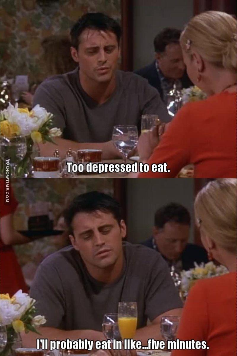 I love Joey! | Friends moments, Friends tv show, Friends tv