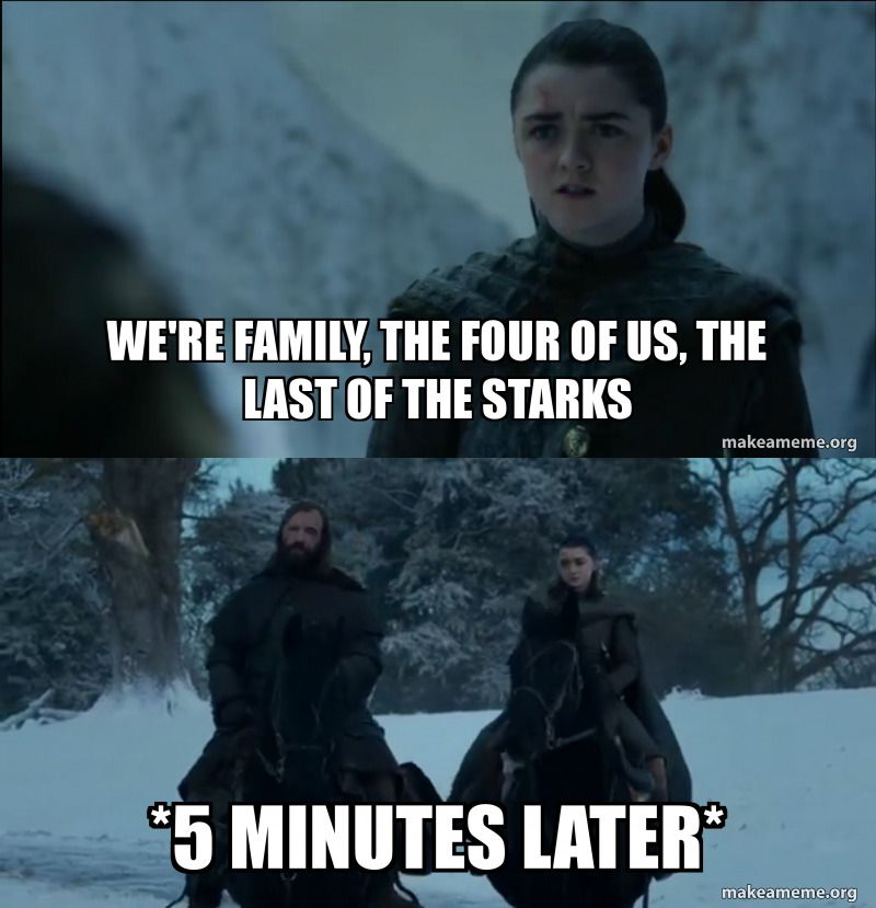 The 53 Best Game Of Thrones The Last Stark Season 8 Episode 4 Memes And Reactions Spoilers In 2021 Got Memes Game Of Thrones Meme Memes
