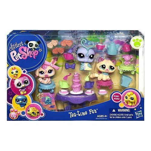 Amazon Com Littlest Pet Shop Figures Themed Playset Tea Party Teatime Fun Toys Games 19 99 Lps Toys Lps Littlest Pet Shop Little Pet Shop Toys