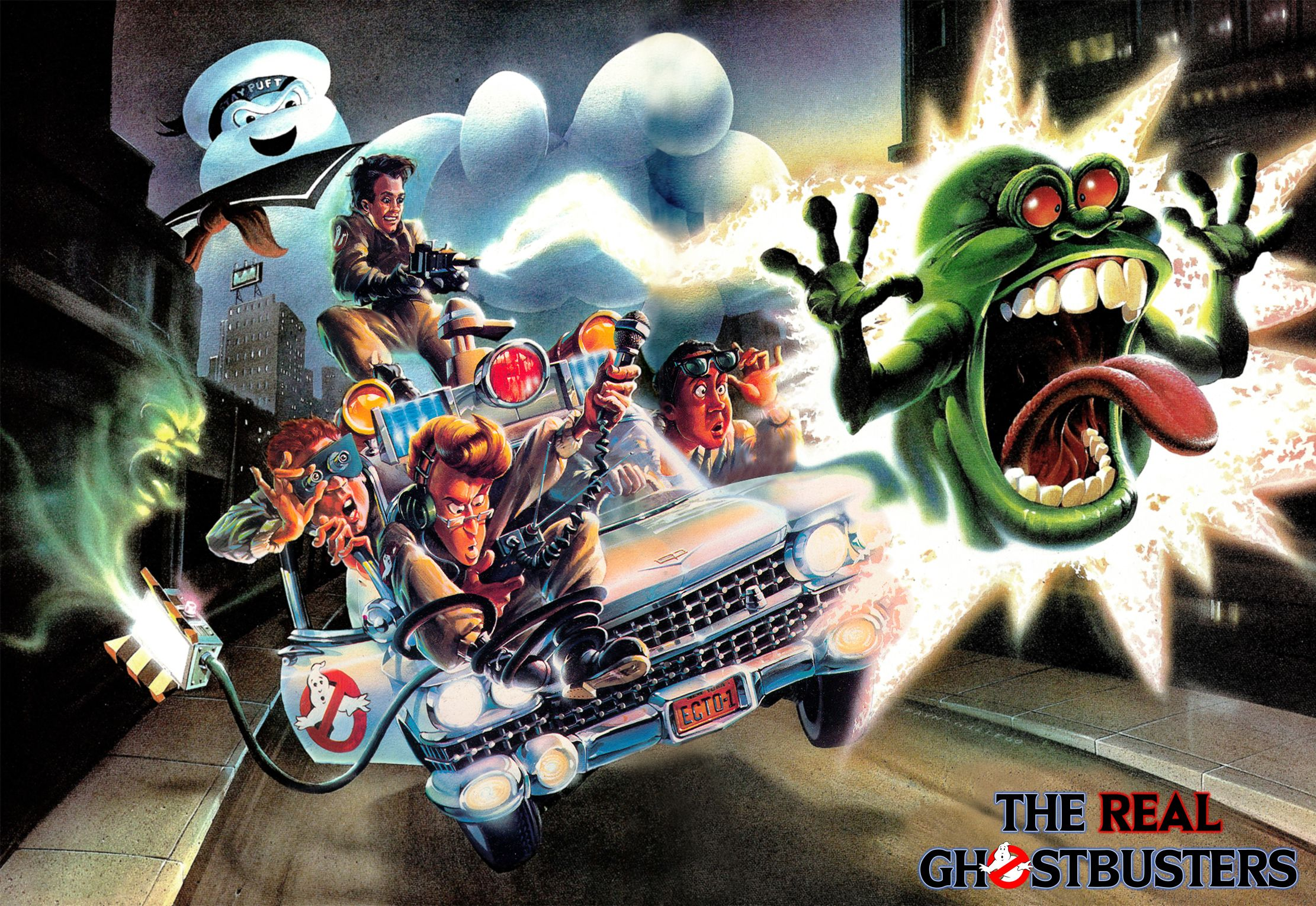 Pin On The Real Ghostbusters