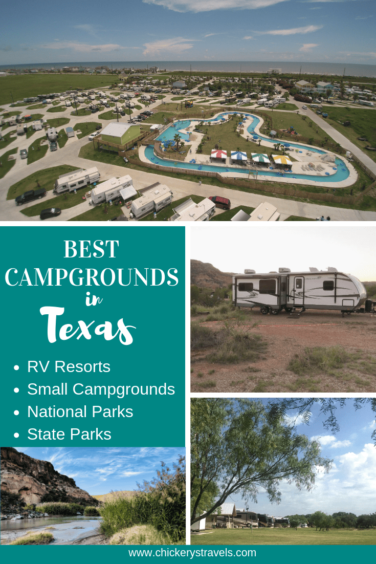 Best Campgrounds In Texas Chickery S Travels Best Campgrounds Rv Parks And Campgrounds Camping In Texas