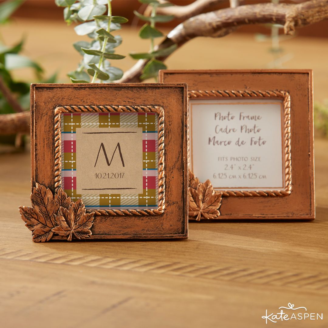12 Ideas For Fabulous Fall Wedding Favors And Decor Favors Kate