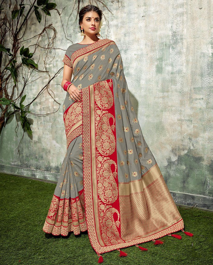 Saree Sari Indian Bollywood Ethnic Style Fancy Designer Embroidery Wedding Wear