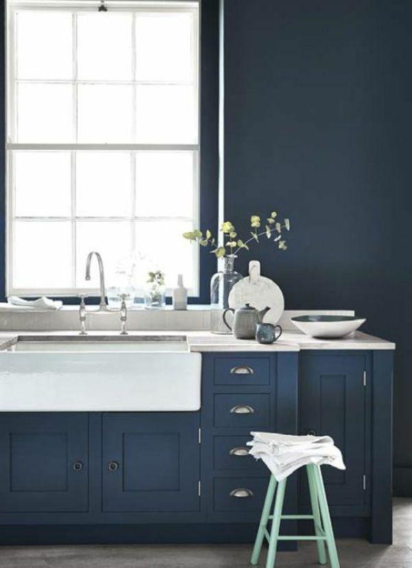 160 neue Küchenideen Blaue und grüne Farbe Farbige