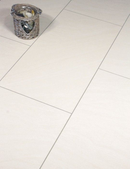 P Kronotex Kamala Laminate Floor Tile Is A Beautiful Ceramic Effect Cream Almost White Tile It Feels Very Laminate Flooring Flooring Laminate Tile Flooring