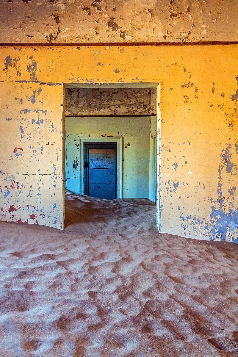 Every ghost town has its own sad story and a particular reason for the human exodus, and while most of the ghost towns are now urban decays, sometimes swal