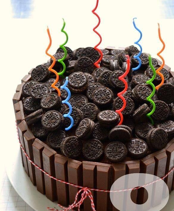 con galletas Oreo Pasteles Pinterest Cake Birthday cakes