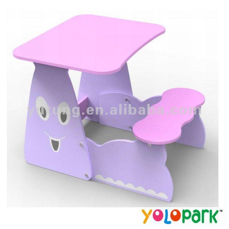 New mdf children study table furniture r1203 photo - Mesas de estudio para ninos ...