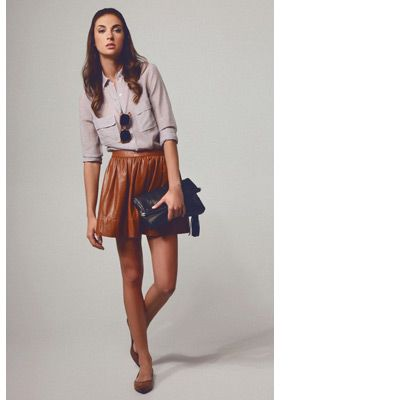 flynn leather skirt | style inspiration | Pinterest | Кожа, Шик и ...